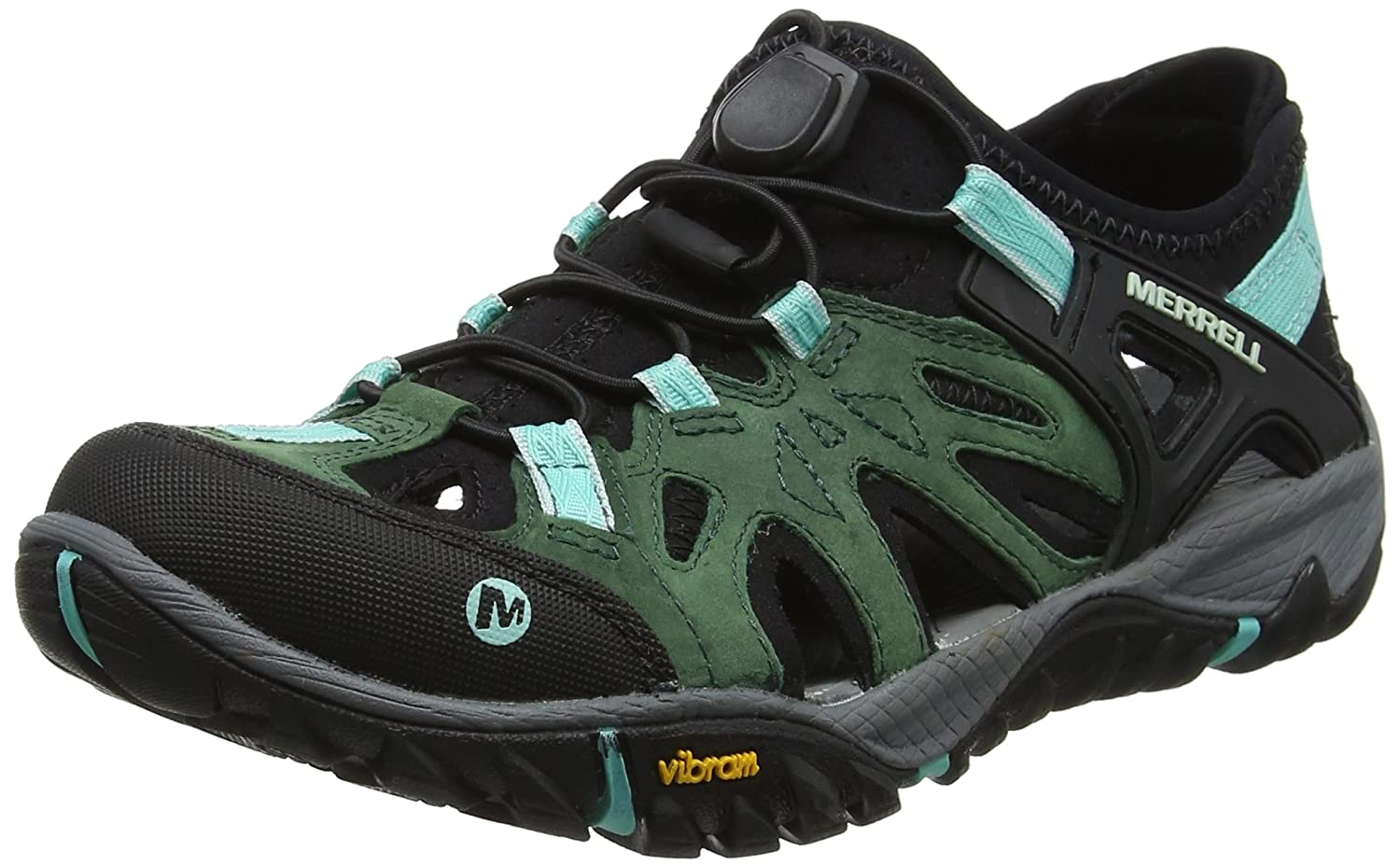 Merrell Women's All Out Blaze Sieve Water Shoe B076QN4F5M 8.5 M US|Mojito