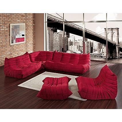Fantastic Downlow Sofa 5 Pc Set By Alphaville Design Amazon Ca Home Inzonedesignstudio Interior Chair Design Inzonedesignstudiocom