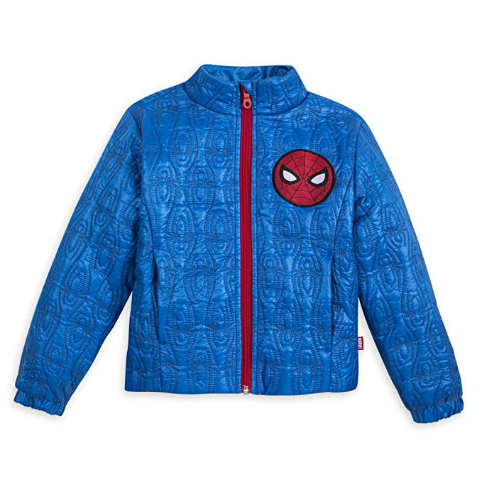 Amazon.com: Marvel Spider-Man - Chaqueta de invierno para ...