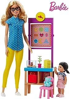Amazon Com Barbie Be A Fashion Designer Doll Dress Up Kit Toys Games