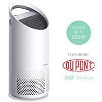 TruSens Z-1000 Small Room Air Purifier, with Dupont HEPA Filter and Two Airflow Streams, White