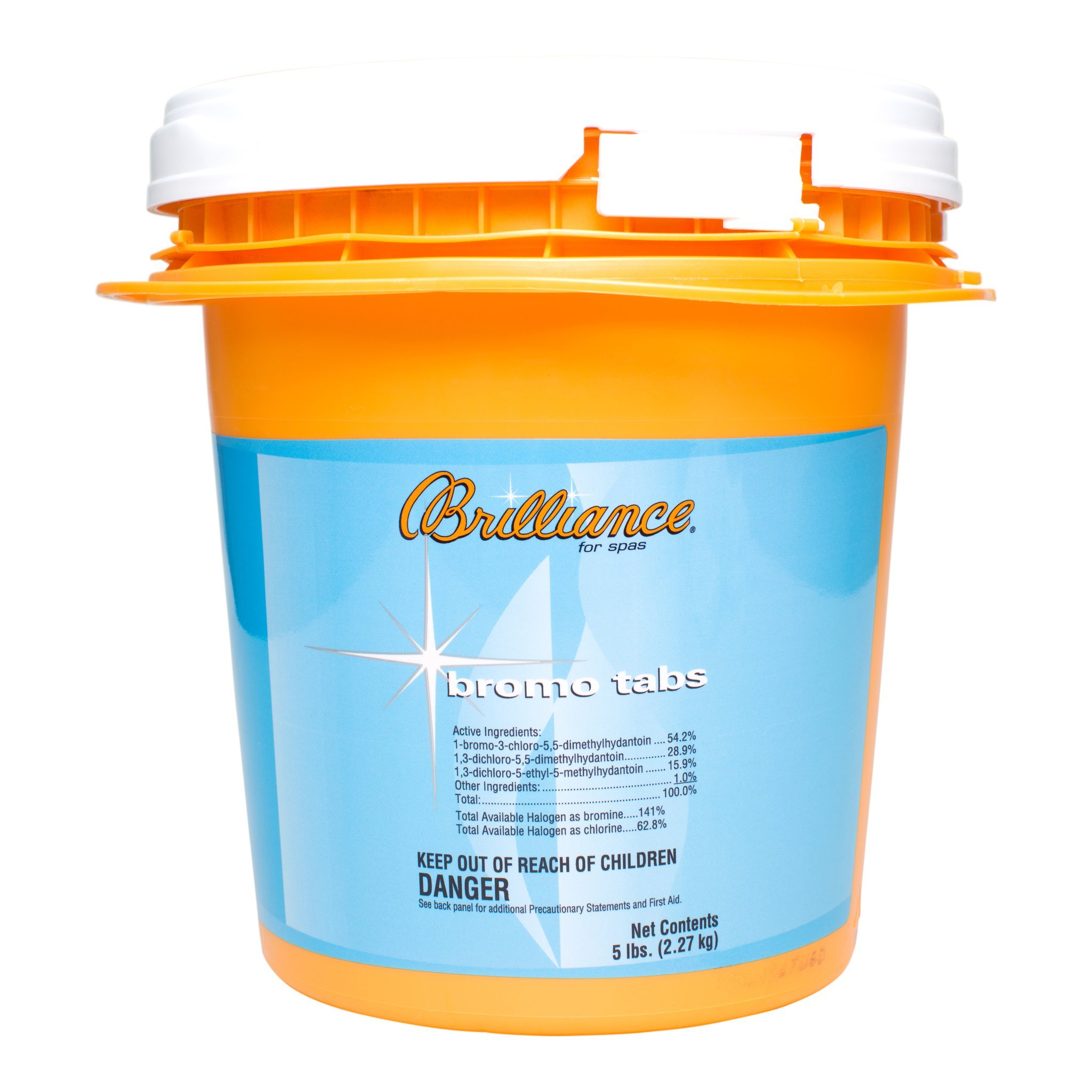 Brilliance for spas Bromo Tabs - 5 lb by Brilliance