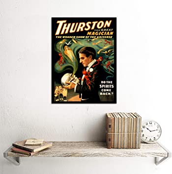 THEATRE VAUDEVILLE THURSTON MAGIC STAGE SHOW USA POSTER ART PICTURE 942PYLV