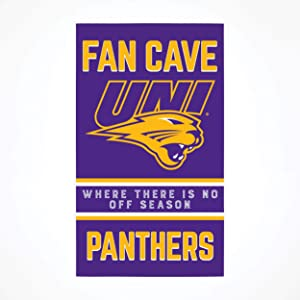 P. Graham Dunn Collegiate Fan Cave University of Northern Iowa NCAA 24 x 14 Birch Wood Pallet Décor Sign