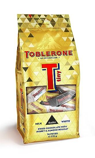 Toblerone Swiss Dark Tiny Chocolate 272 Gm 34 Pieces