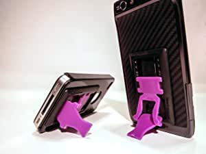 SlideStand Stand for Smartphones - Black & Purple
