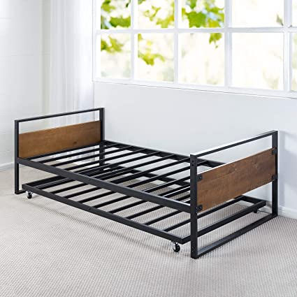 Genial Zinus Suzanne Twin Daybed And Trundle Frame Set / Premium Steel Slat  Support / Daybed And