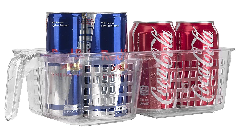 Red Bull Kühlschrank Dose Maße : Novo organizer korb für kühlschrank mit unterteilung transparent
