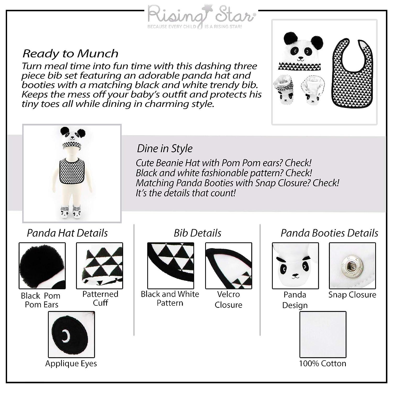 Amazon.com: Rising Star - Juego de sombrero, babero y caja ...
