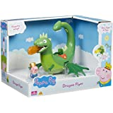Peppa Pig : Once Upon a Time – Georges et son Dragon – 1 Mini Figurine + Véhicule