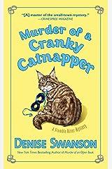 Murder of a Cranky Catnapper (Scumble River Mystery) Mass Market Paperback
