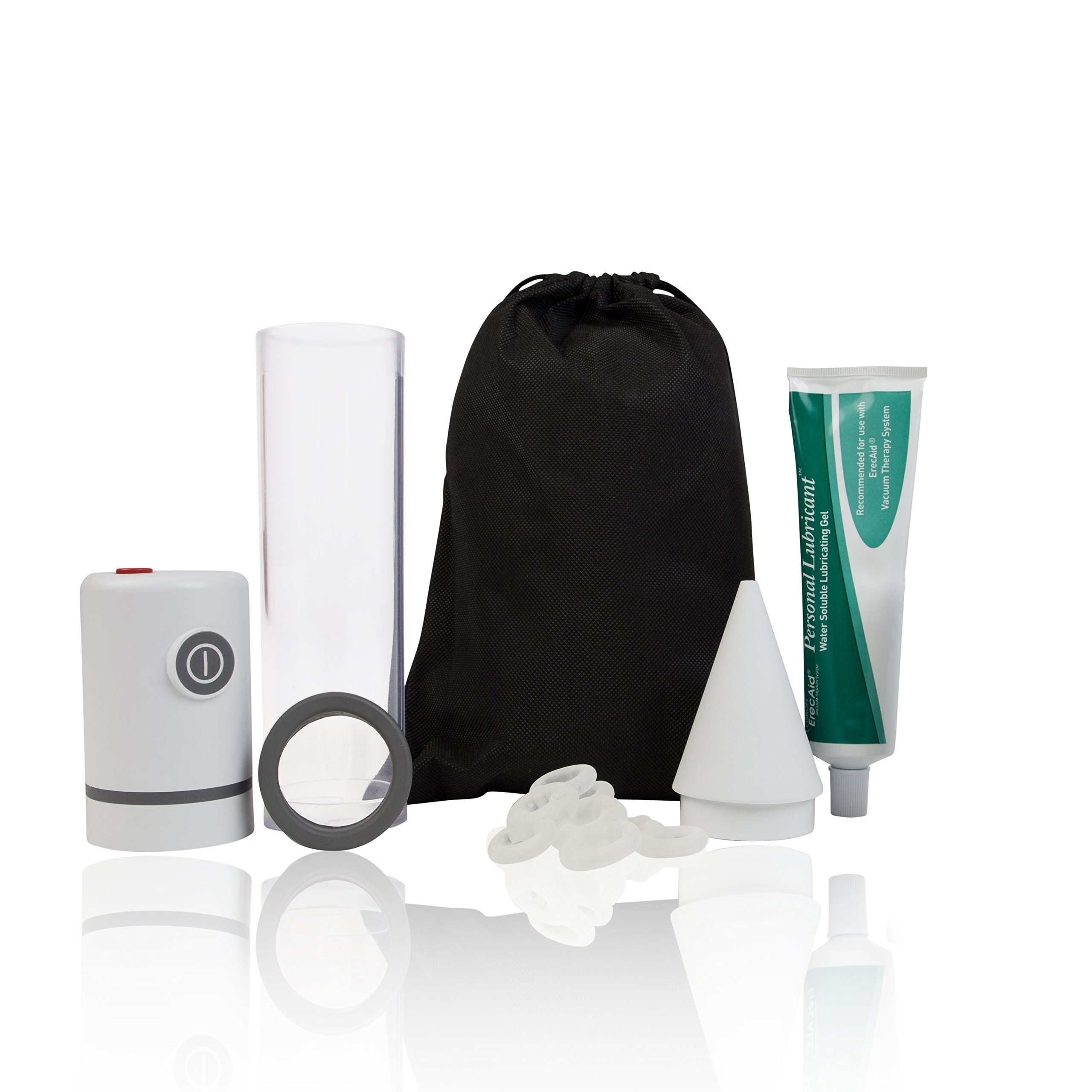 Vacuum Pump for Men, Natural Alternative to Erectile Dysfunction Pills, Automatic Penis Pump, Men's Pump Kit for Erectile Dysfunction - Pos-T-Vac, BOS-2000-2 by POS-T-VAC