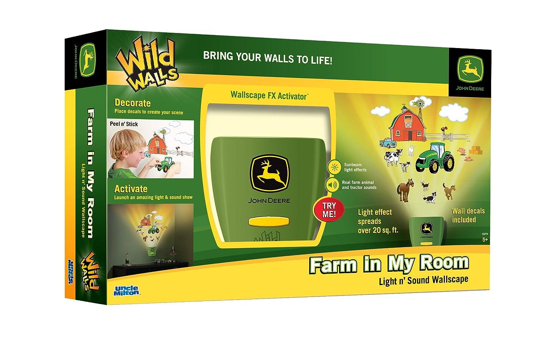Uncle Milton John Deere Wild Walls Farm in My Room Decor: Amazon.ca ...