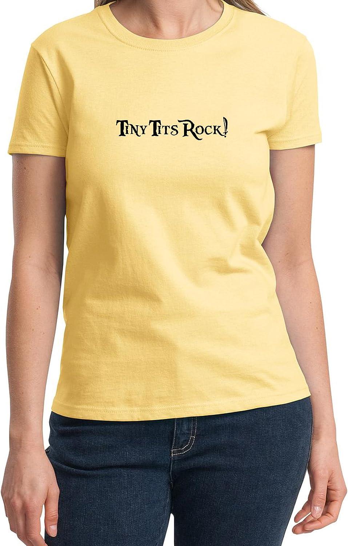 Ladies T-Shirt Tiny Tits Rock