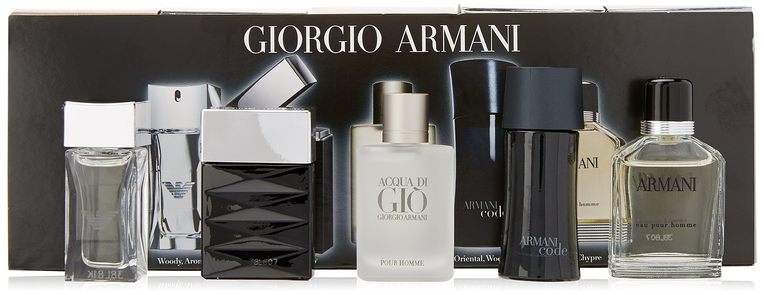 Giorgio Armani Mini Attitude 5 Piece Gift Set for Men by GIORGIO ARMANI