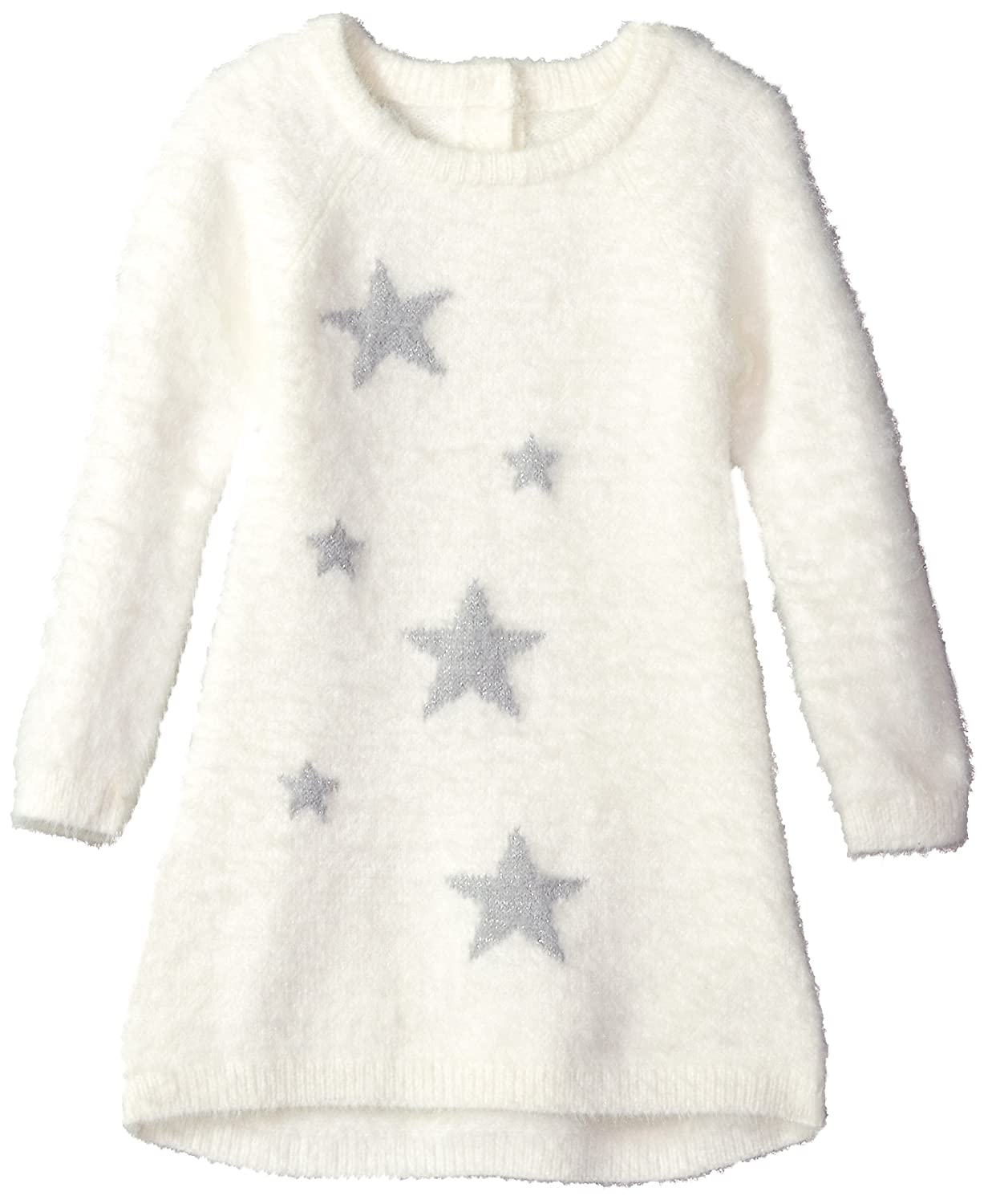 05e946ebe9 Top1  Crazy 8 Toddler Girls  Long Sleeve Fuzzy Sweater Dress