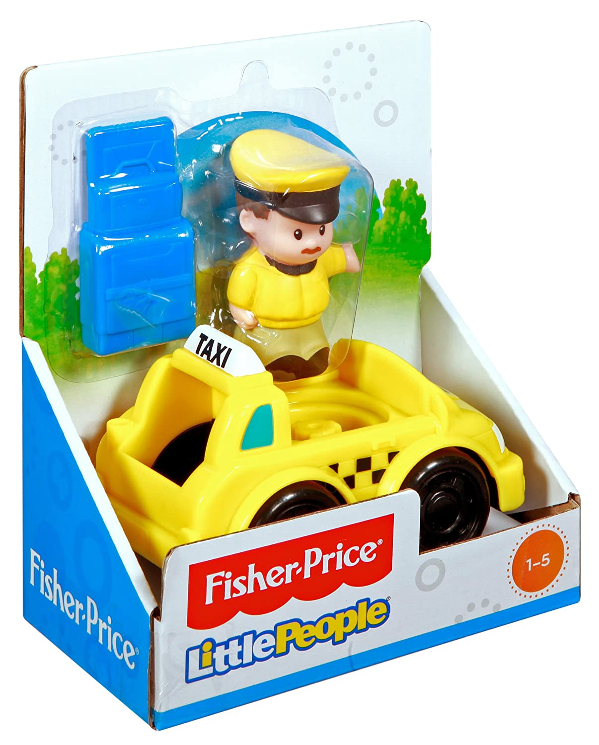 amazon com fisher price little people taxi toys u0026 games