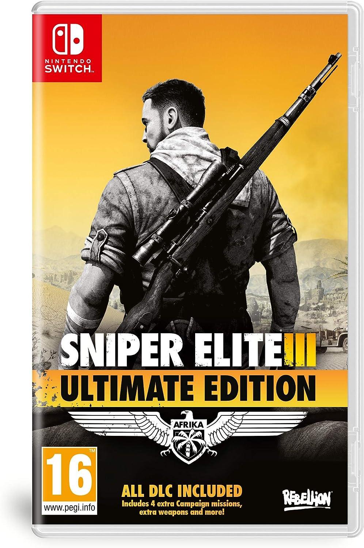 Sniper Elite 3 Ultimate Edition - Nintendo Switch [Importación inglesa]: Amazon.es: Videojuegos