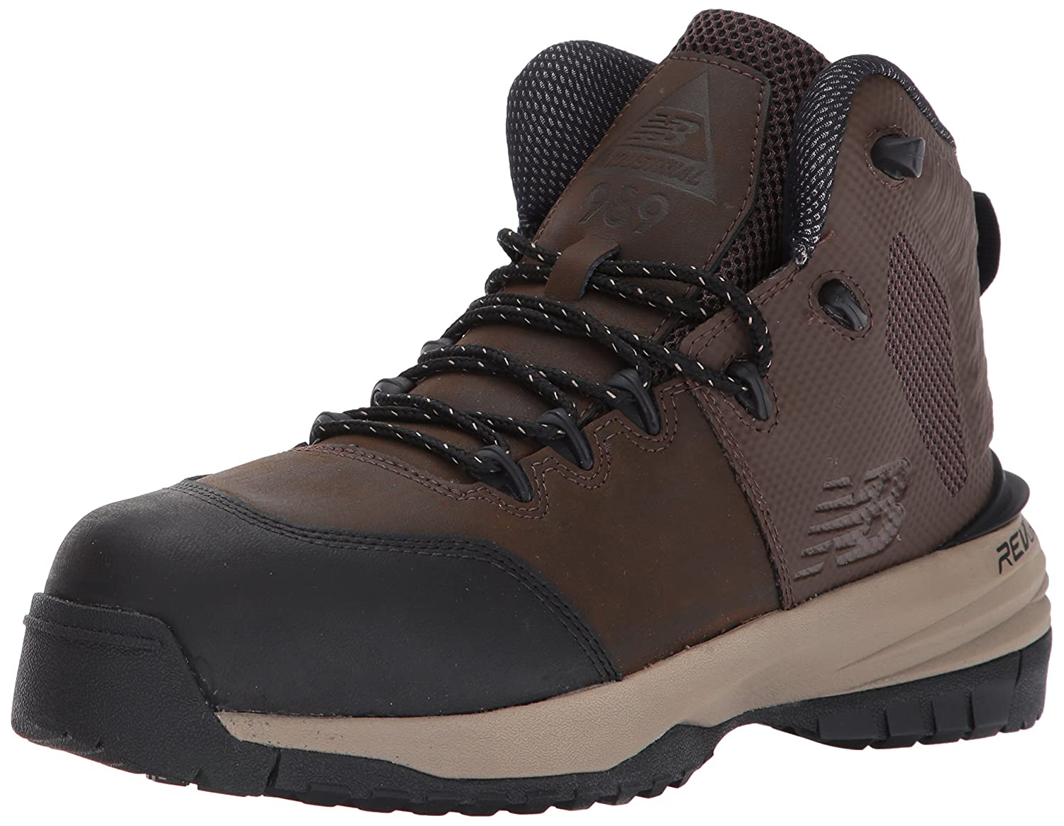 New Balance Men's 989V1 Work Training Shoe B01MQLSHAS 14 D(M) US|Brown