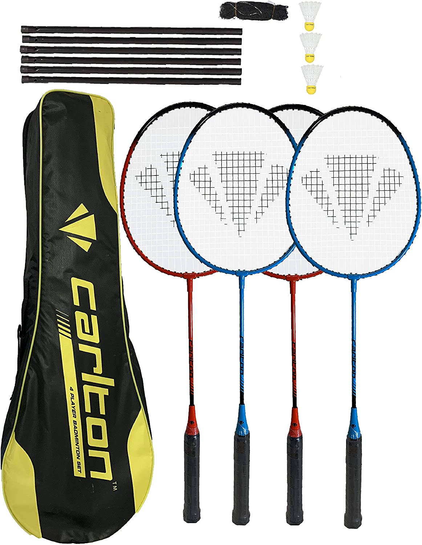 DUNLOP Racchette da Badminton NanoMax PRO 2 o 4 Set di opzioni