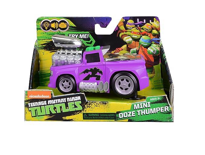 Las Tortugas Ninja Mini mocos verdes Thumper - Camión muscular y ...
