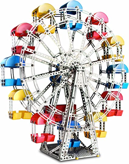 Ferris Wheel Model Construction Set Building Carnival Kids Child Toy Creativity