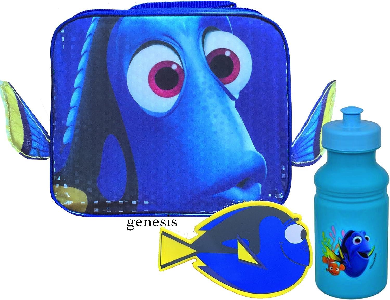 Disney Finding Dory & Nemo - Fiambrera aislada para niños (tapa extraíble, Dory)