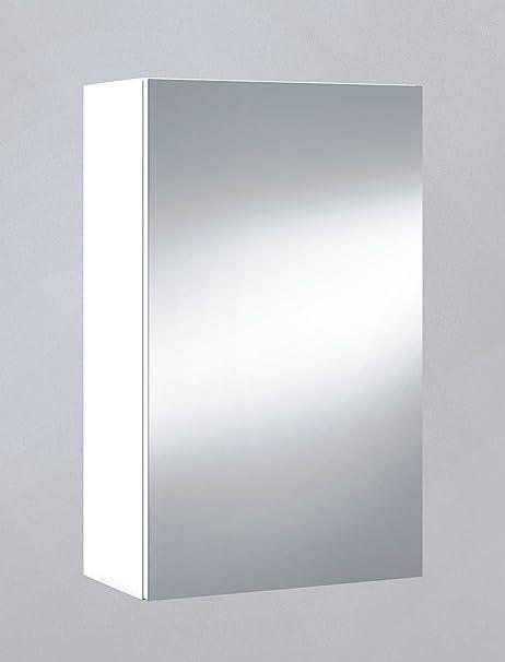 Armario con espejo, cuarto de baño o aseo, para colgar con 1 puerta ...