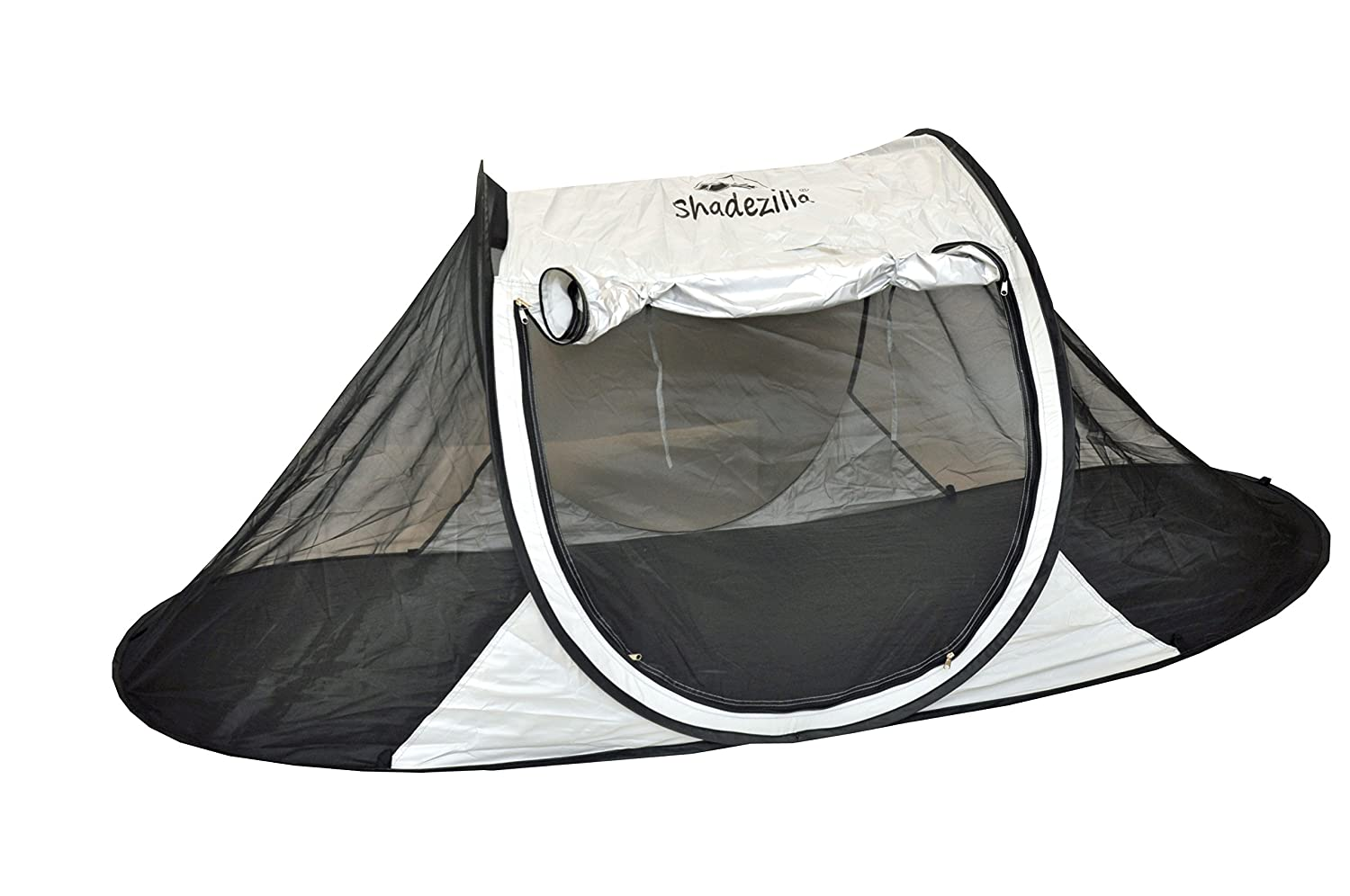Shadezilla Free-Standing Instant Pop-Up Mosquito Bug Tent with UPF 100 Removable Ceiling for 1 to 2 Person