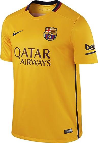 Nike FC Barcelona Away Stadium - Camiseta de mangas cortas para hombre: Amazon.es: Ropa y accesorios