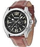 Timberland - 14366JS/02A - Montre Homme - Quartz - Chronographe - Bracelet Cuir marron