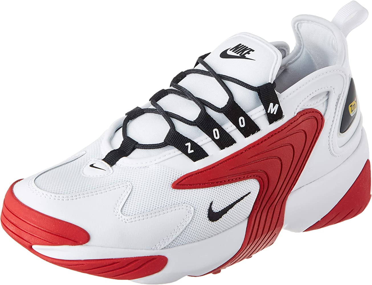 Nike AO0269, Zapatillas de Running para Hombre, Bianco White Black Gym Red White 107, 41 EU: Amazon.es: Zapatos y complementos