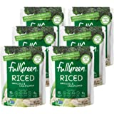 NEW: Fullgreen, Riced Broccoli and Cauliflower, 100% Veg, shelf-stable, NO preservatives, Vegan, Keto and 89% lower…