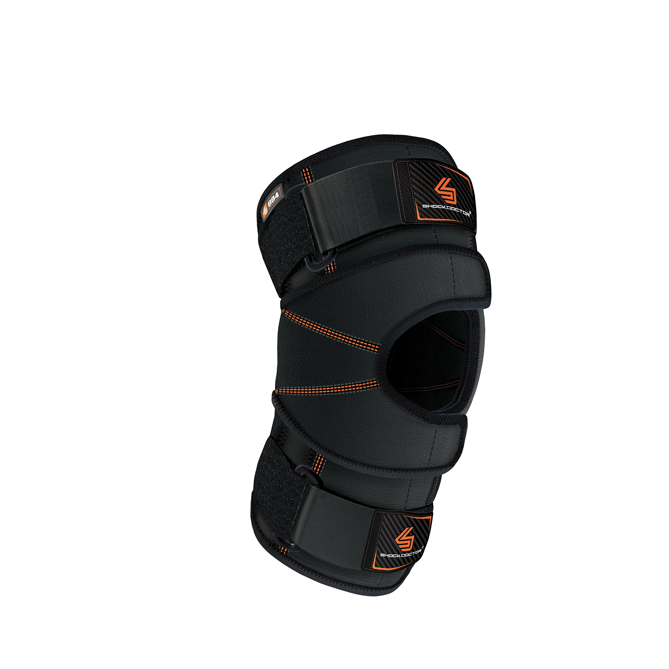 Shock Doctor 884 Versatile Knee Wrap with Stays, Black, Large by Shock Doctor
