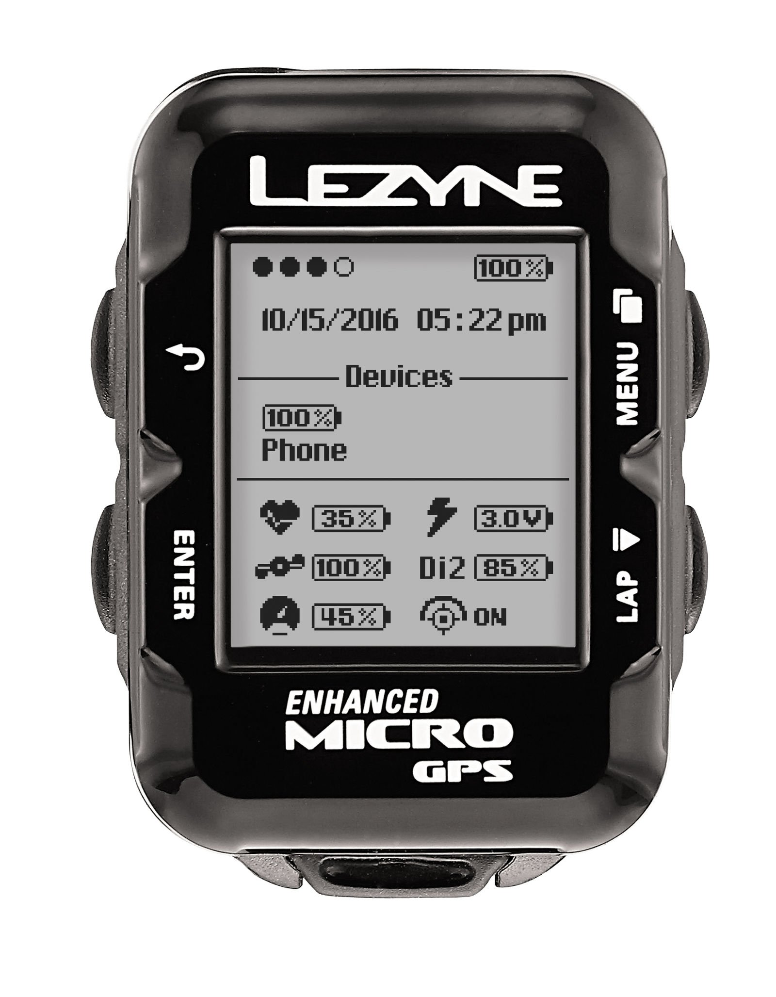 Lezyne Micro GPS, Black, One Size by Lezyne (Image #2)