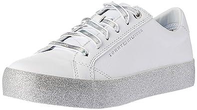 f7301c62290482 Tommy Hilfiger Shoes Glitter Dress Sneake: Tommy Hilfiger: Amazon.de ...