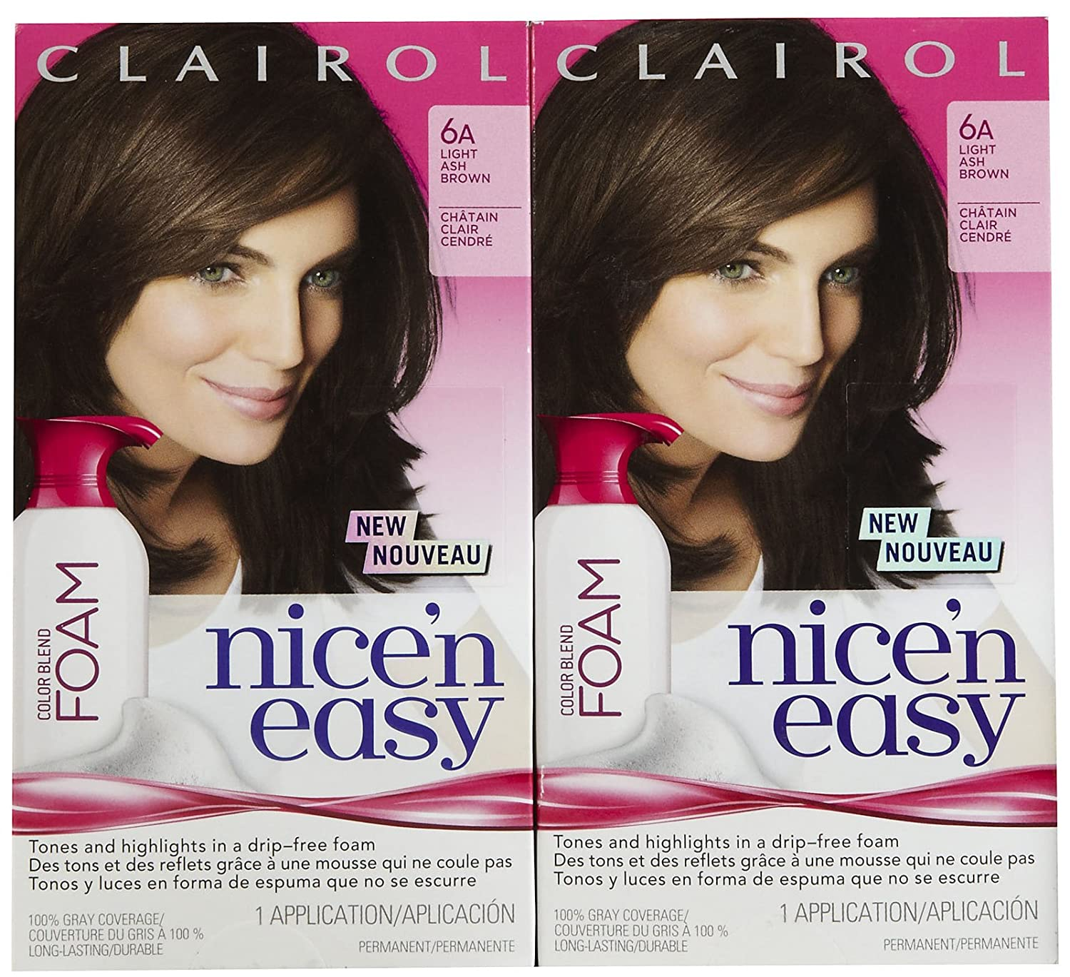 Amazon Clairol Nice N Easy Color Blend Foam Hair Color 6a