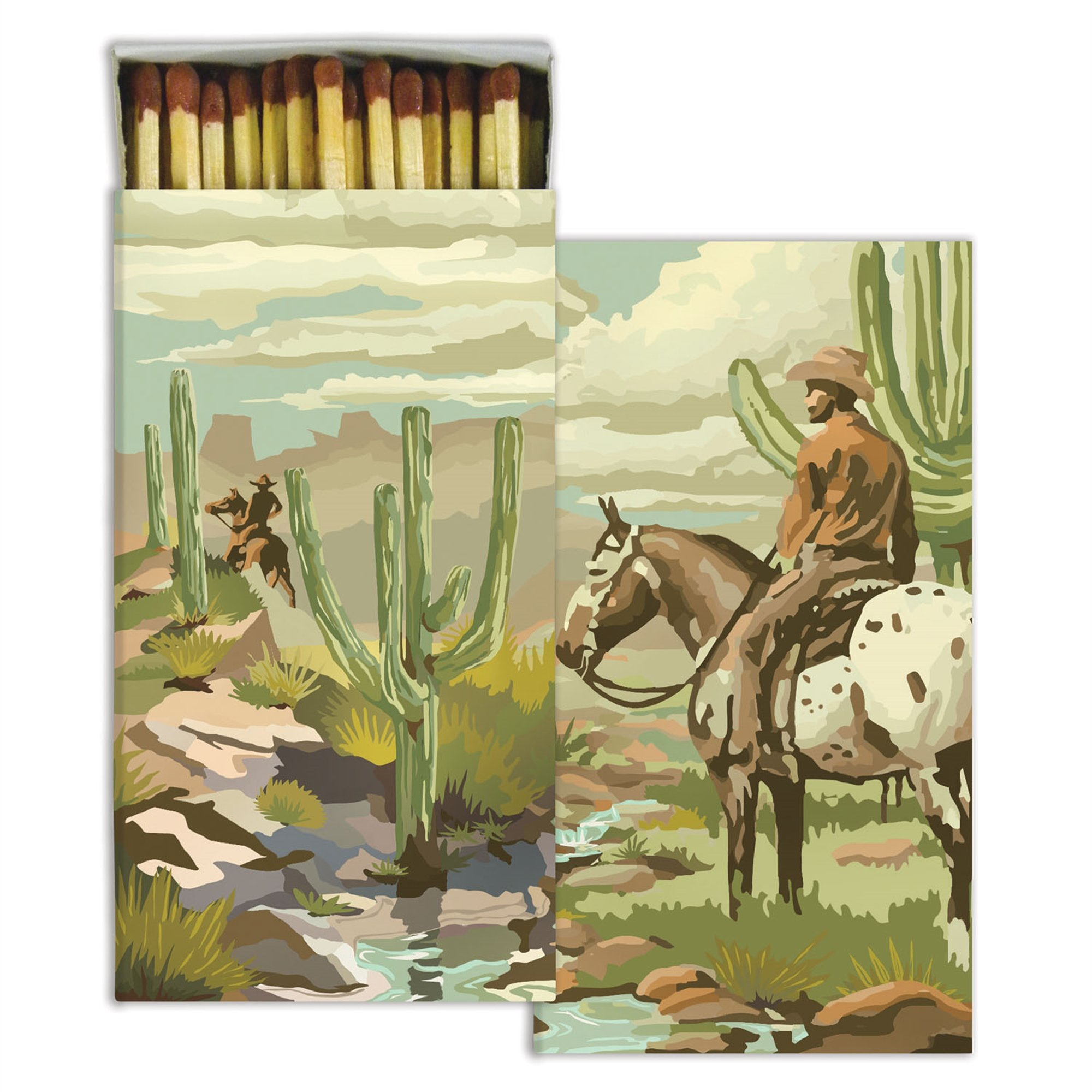HomArt - Match Box Set of 2 - Cowboy