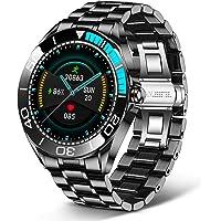 LIGE Reloj inteligente para hombre, reloj de pulsera de actividad física IP68 resistente al agua con oxígeno en sangre…