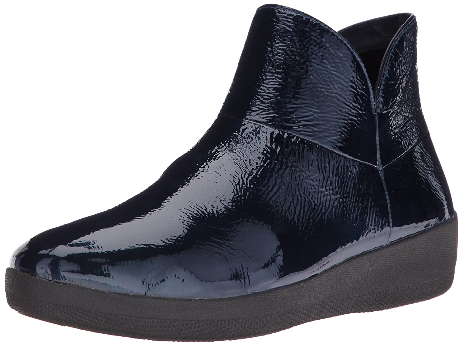 FitFlop Women's Supermod Boot Ankle Bootie B01IC22SUC 7.5 B(M) US|Inky Blue