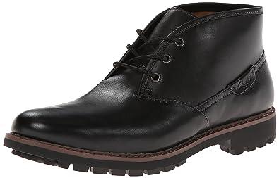 CLARKS Men's Montacute Duke Chukka Boot,Black,11.5 ...