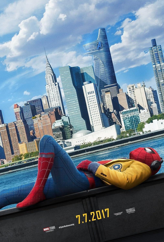 Amazon 映画ポスター スパイダーマン ホームカミング マーベル 両面