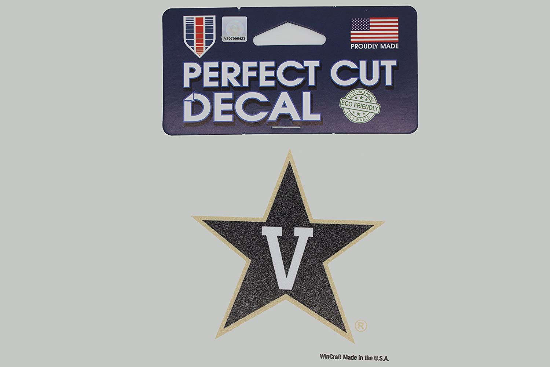 Vanderbilt University Commodores NCAA 4x4 Die Cut Decals