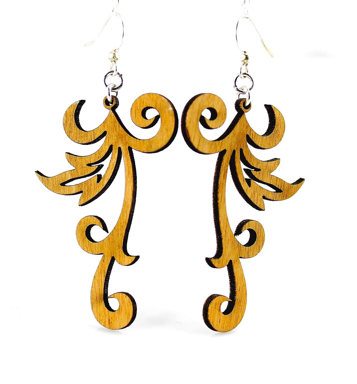 Swishy Scroll Earrings