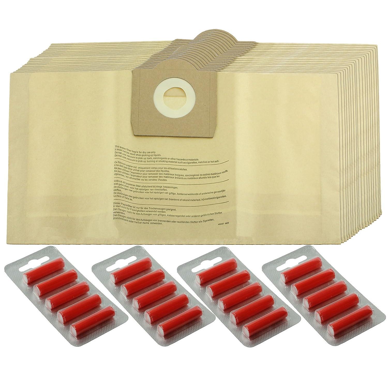 Spares2go fuertes bolsas de polvo para Parkside Lidl aspiradoras (paquete de 5, 10, 15, 20 + ambientadores) 5 Bags