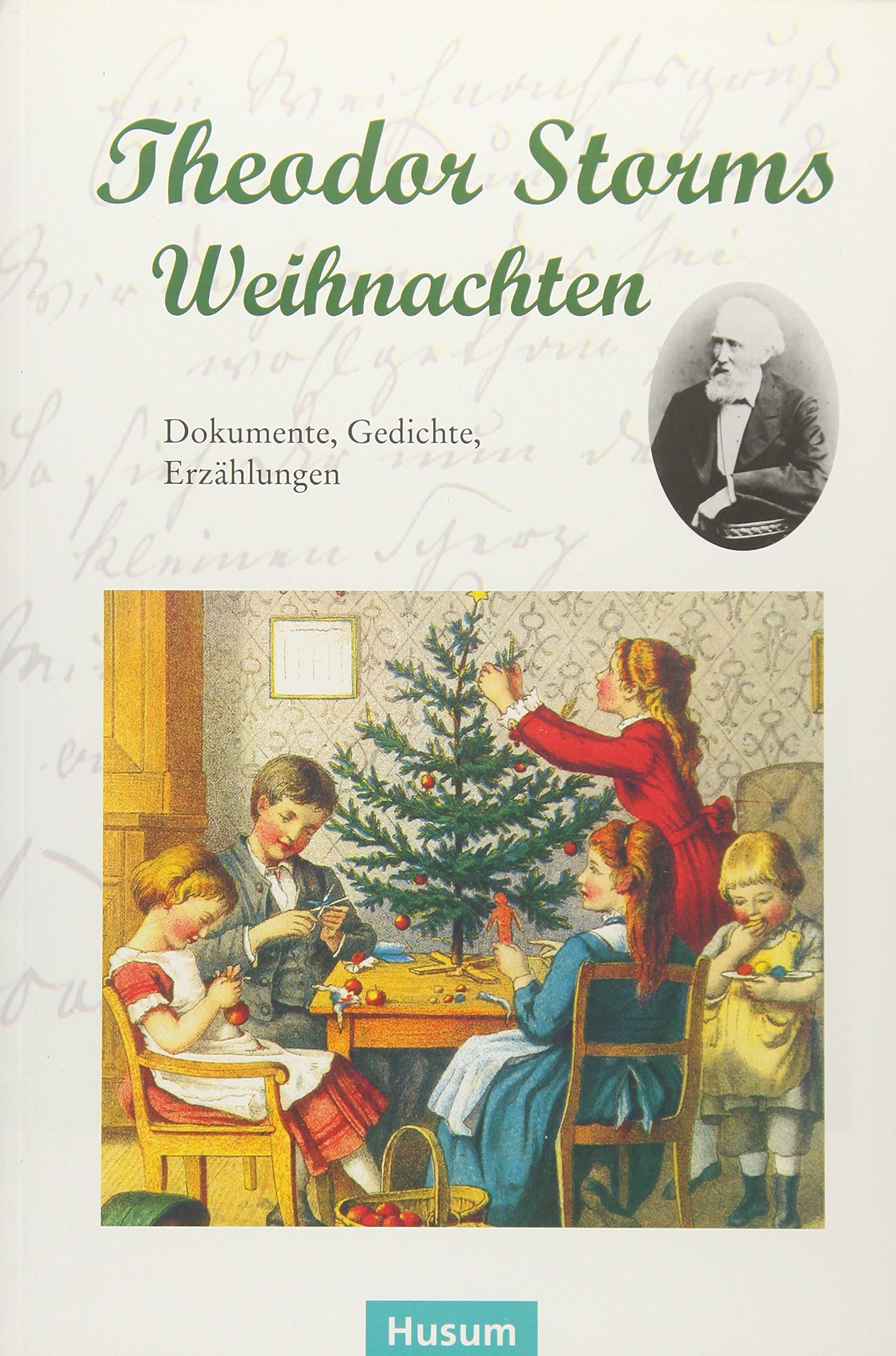 Theodor Storms Weihnachten Dokumente Gedichte Erzählungen