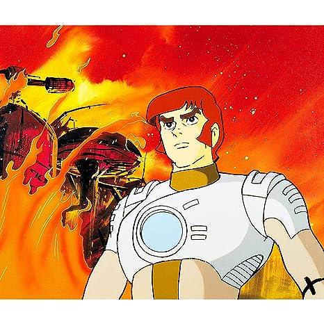 Fabulous Poster Affiche Capitaine Flam Dessin Anime Jeunesse