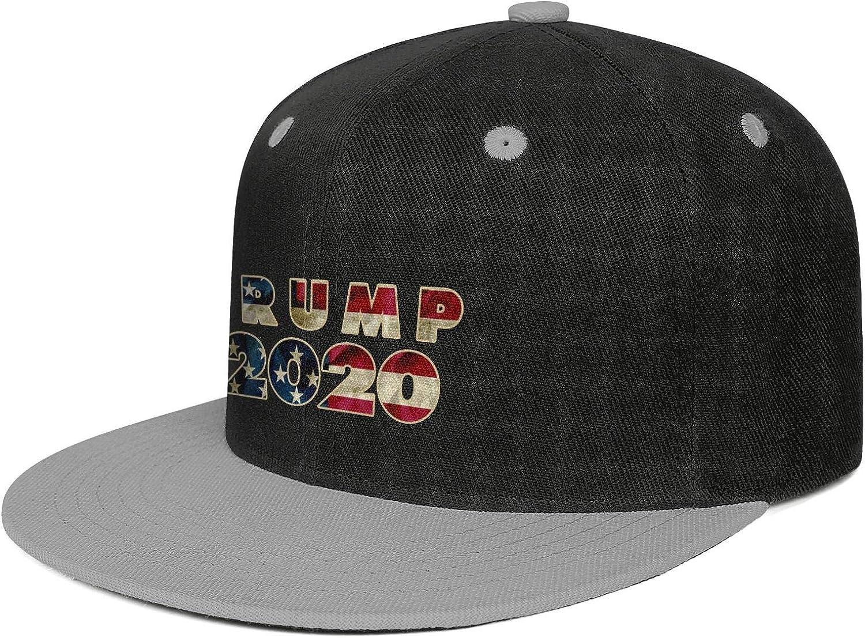 JDHASA Trump 2020 American Flag Mens Snapback Hat Baseball Caps Summer Hats Hip Hop Cap