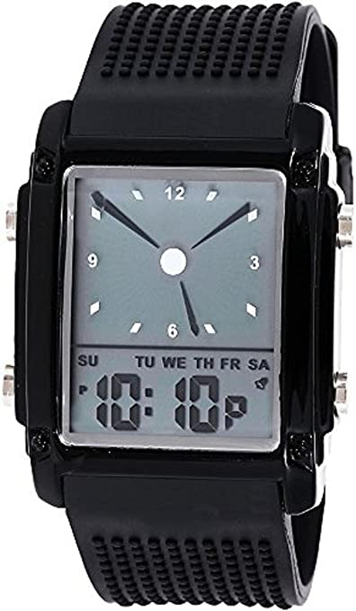 pappi Boss Smart Digital negro Dial Multifunción deportivo de hombre y boy 's watch-high definición Casual Digital reloj