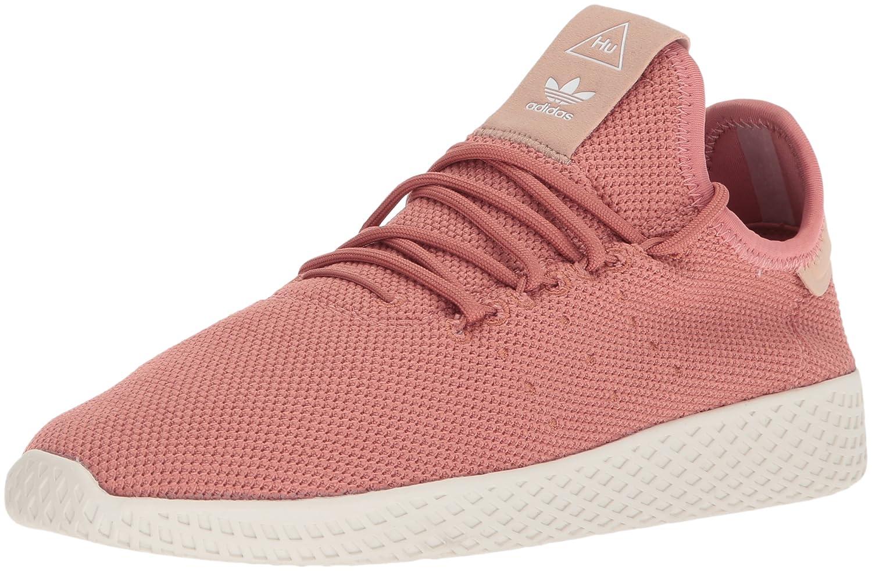 adidas Women's Pw Tennis Hu W Sneaker B0714C1DVG 10.5 B(M) US|Ash Pink/Ash Pink/Chalk White